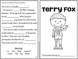 best terry fox images teaching ideas classroom terry fox activity booklet
