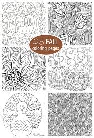 You can find so many unique, cute and complicated pictures a great way to do this for children of all ages and many adults is to do some coloring in. Free Fall Adult Coloring Pages U Create