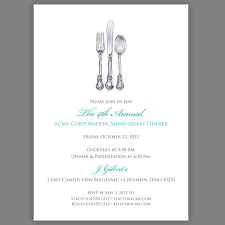 dinner invitation sample dinner invitation email template cimvitation awesome corporate party