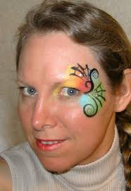 comely face paintings in kids to sleek easy animal face painting design sheets