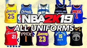 Uniforms - All Youtube Nba 2k19 dddafbcaddd|Down And Distance