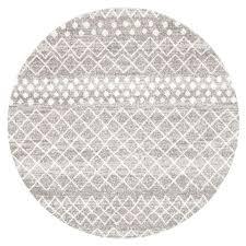 round white rug grey white diamond pattern round rug white fluffy rug 8x10 round white rug