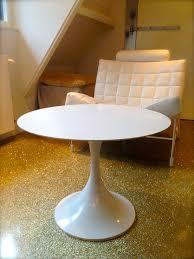 Space Age Furniture Space Age Coffeetable Retro Salontafel Trompetvoet Tafel Saarinen