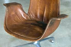 vintage office chairs for sale. Retro Eames Chair Office Chairs Desk Leather Vintage  Style Tan . For Sale S