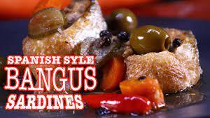 spanish style bangus sardines recipe