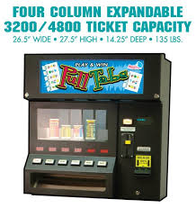 How To Win Vending Machine Games Beauteous 48 Column Expandable American Games Pull Tab Tickets Pull Tab