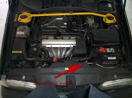 volvo 850 repairs fixes transmission dipstick location no