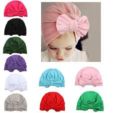 glittery sweet <b>Fashion Bowknot Baby Hat</b> Candy Color Kids Girl ...