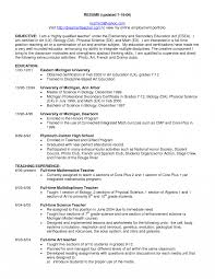 French Teacher Resume Examples Templates Resume For Online
