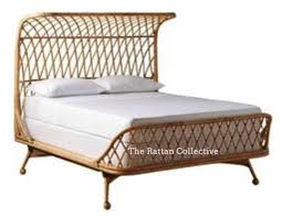 wicker bed frame. Plain Wicker Elements Handmade Rattan Bed Contemporary Design Piece Byron Bay U2013 The  Rattan Collective In Wicker Bed Frame L