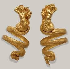 pair of gold armbands work of art heilbrunn timeline of art pair of gold armbands