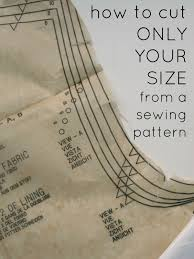 How To Use Sewing Patterns Simple Ideas