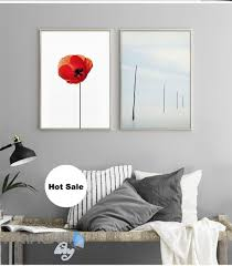 appealing vougue cover red poppy flower canvas prints wall decals modern art of ideas and trend on red poppy flower wall art with best poppies oil painting red flowers impasto small wall on pics of