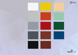 Carta De Colores Sigma Pdf Document