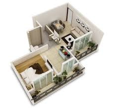 Extra Small One Bedroom
