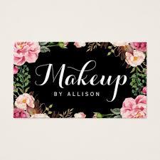 makeup business cards makeup artist business cards templates zazzle template