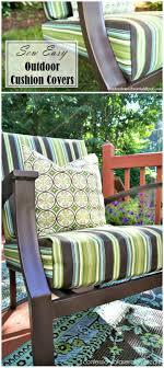 easy sew outdoor cushion diy