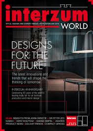 Design Product News Magazine Interzum World 2019 Show Magazine By Worldshowmedia Issuu