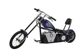 amazon com razor rebellion electric chopper bike sports outdoors