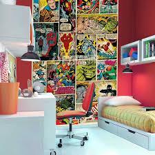 comic book bedroom decor marvel comics and avengers wallpaper wall murals dacor bed on bedrooms marvel on marvel comic book wall mural with comic book bedroom decor coma frique studio 1a8157d1776b