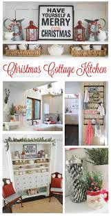 country cottage home holidays christmas