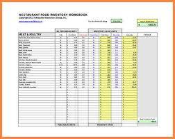 13 Food Inventory Templates Doc Pdf 3421585056 Free Food