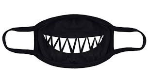Unisex Mask <b>Cotton Black Mouth</b> Mask Dust- Buy Online in Kenya at ...