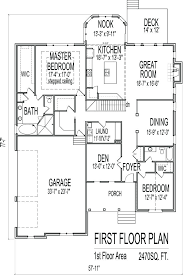 floor plans with basement. 4 Bedroom Ranch House Plans 1 Floor Plan Simple Basement Home Design With R