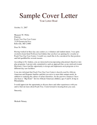 Cover Letters Letter Format Magnificent Sample Examples For Job