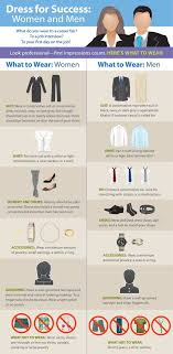 best dress for success ideas dress well quotes  dress for success infographic national association of colleges and employers nace