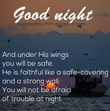 Goodnight Quotes Images With Bible Verses