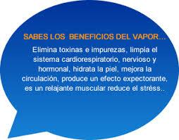 Wonderful Sabes Los Beneficios Del Vapor. Elimina Toxinas E Impurezas, Limpia El  Sistema Cardiorespiratorio,