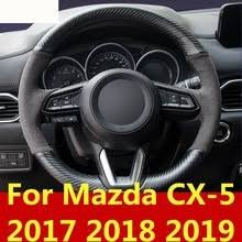 <b>Оплетка руля для</b> Mazda, аксессуары для автомобиля, мягкая ...