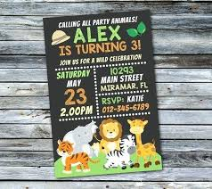 Free Printable Safari Birthday Invitations Safari Birthday Party Invitations Photo Free Printable King Of Image