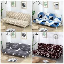 armless sofa cover stretch diamond