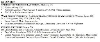 Example Great Resume Good Resume Examples For College Students