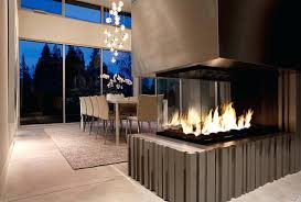 modern fireplace design contemporary dining room ideas