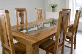 ... Dining Tables, Astounding Light Brown Rectangle Rustic Wooden Unique  Dining Tables Stained Ideas: unique ...
