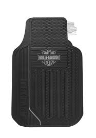 harley davidson black grey b s elite series floor mat