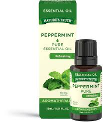 100% <b>Pure Peppermint Essential Oil</b> by Nature's Truth