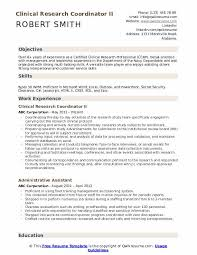 Clinical Research Coordinator Resume Sample Clinical Research Coordinator Resume Samples Qwikresume