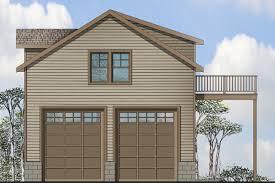 garage plan 20 063 front elevation