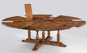 interior jupe table extra large round solid walnut dining with stunning seats 12 trending 6