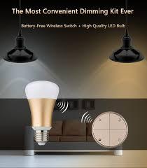 no wire lighting. Battery Free Wireless Switch \u0026 High Quality LED Bulb, No ,no Wifi , App - YouTube Wire Lighting A