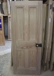 Great Solid Wood 4 Panel Interior Doors Modern Panel White Interior