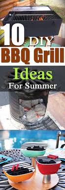 10 diy bbq grill ideas that are inexpensive and easy to follow for the summer