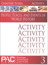 World History - Chapter 3 Activities (055024) Details - Rainbow ...