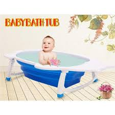 foldable baby bath space saver bathtub 11street malaysia bathing skin care
