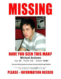 Missing Person Poster Template Enchanting Missing Person Ad Template Missing Person Poster Template App