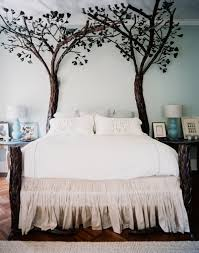 Love the decorative tree bed frame posts @istandarddesign